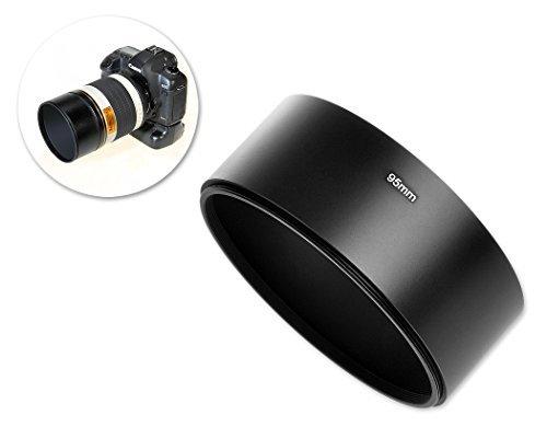 dsstyles 95mm Schraube in Metall Gegenlichtblende für Spiegel Tele Reflex Kamera Objektiv mit 95mm Filtergewinde (Reflex-kamera)