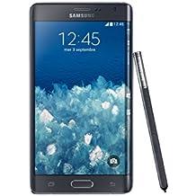 "Samsung Galaxy Note Edge - Smartphone libre Android (pantalla 5.6"", cámara 16 Mp, 32 GB, 2.7 GHz, 3 GB RAM), negro (importado)"