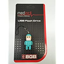 MedInc - Memoria USB de 8 GB, diseño de medicina Mini surgeon