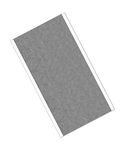 tapecase 118312,7x 18,4cm-25silber, Zinn/kupfer/Acryl-Klebstoff, verzinnt Folie mit ableitfähigem adhesive-converted von 3M 1183, 12,7x 18,4cm Rechtecke (25Stück)