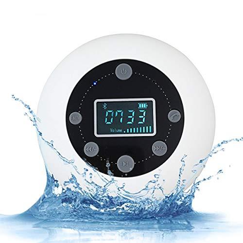 VICTORSTAR Bluetooth Altavoz Impermeable Inalámbrica estéreo, Mini A
