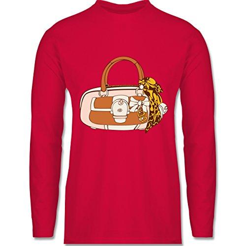 Shirtracer Symbole - Handtasche - Herren Langarmshirt Rot