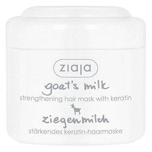 Ziaja leche de cabra pelo máscara intensa acondicionado proteína Tratamiento con queratina para pelo dañado 200ml