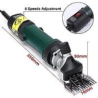 YMJ Máquinas para esquilar,limpiar Esquiladora Máquinas de Eléctrica Esquilar para ovejas 690W (13 curved teeth blade)