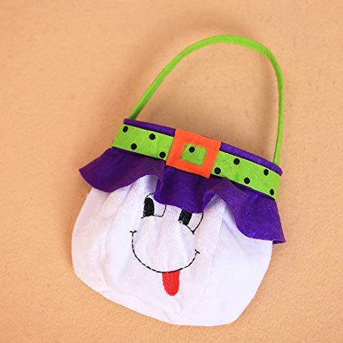 (Swiftswan Halloween Kinder Süßigkeiten Tote Handtasche Süßigkeiten Tasche Party DecorationsGhost)