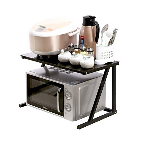 CAOYUYMX Küchenregal Küche mikrowelle Rack ofen Rack Regale reiskocher Rack gewürzregal gewürzregal lagerung lagerung multifunktionsgestell Küchenregal