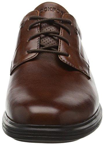 Rockport Herren Dressports 2 Lite Plaintoe Ox Derby Braun (NEW BROWN LEA) gFH2RPkv2