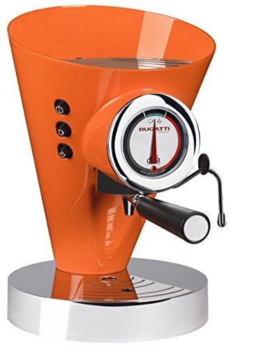 Casa Bugatti 15-EDIVACO Kaffeevollautomat Diva Evolution, orange