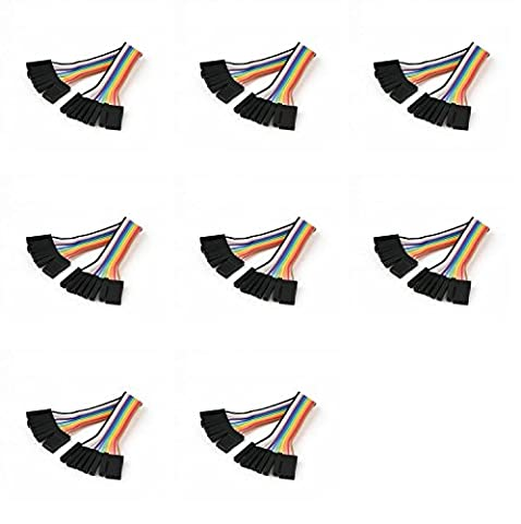 8 x Quantity of Walkera Runner 250 (R) Advanced GPS Quadcopter Drone (100mm) Super Clean RC Male to Male Ribbon Extensions Set(Servo Connector) - FAST FROM Orlando, Florida USA!