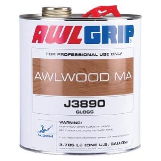 Awlgrip Awlwood Ma Gloss Finish, Qt. J3890/1QTUS by Awlgrip