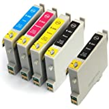 Epson Stylus CX3650 Set of 5 Compatible Ink Cartridges
