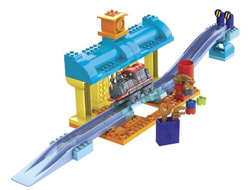 Mega Bloks Chuggington Construction Train-96611 Repair Shed