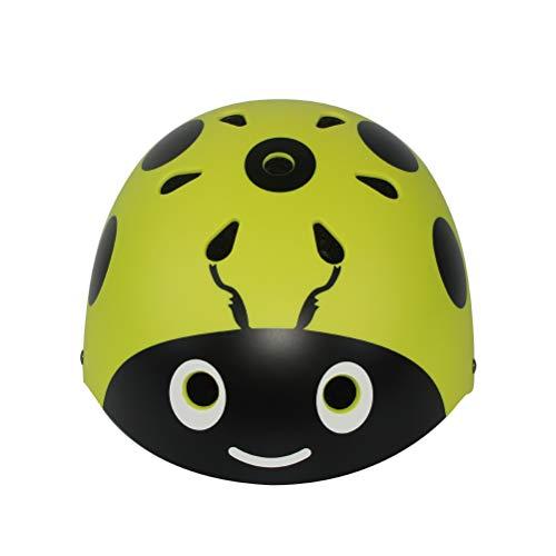 Qinf 2018 Neue Kinderrad Helm Kinderroller Skating Helm,Yellow,48~54Cm