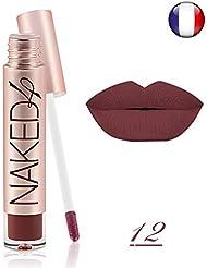Rouge à lèvre mat NAKED 4 waterproof semi permanent longue durée o.two.o cosmétique