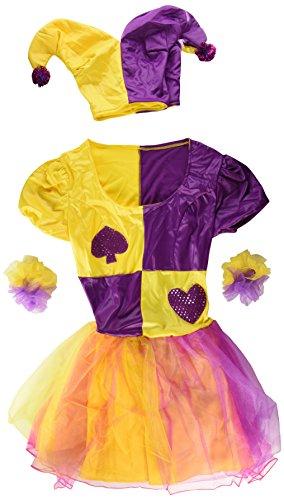 Imagen de my other me  disfraz de bufón para mujer, talla m l viving costumes mom00563