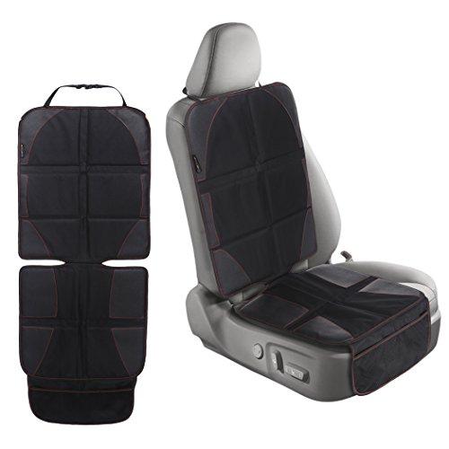 Autositzauflage Auto Sitzauflage Autositzschoner Kindersitzunterlage Rip-Stop zum Schutz von Kindersitzen Isofix geeignet Auto-Kindersitzunterlage wasserabweisend Autositzschutz Autositzunterlage