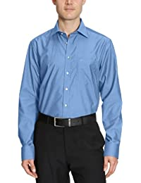 Seidensticker Herren Businesshemd Modern Langarm mit Kent-Kragen bügelfrei, , Gr. 03000