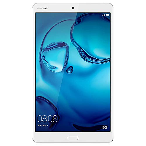 Huawei Mediapad M3 4G Lte Tablet, Display da 8,4' IPS/WQXGA, Processore Kirin Octa-Core, RAM 4 GB, HDD da 32 GB, Argento