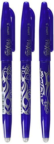 Pilot Frixion Tintenroller (radierbar) blau 3 Stück Conipa-Set