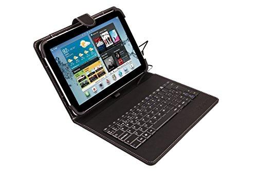 SilverHT - Funda universal teclado tablet 9'' - 10.1''