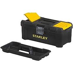 """Stanley STST1-75515 Boite à outils essential m 12,5"""", Noir/Jaune, 12.5"""""""