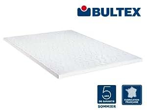 bultex sommier extra plat encastrable blanc 140 x 190 cm cuisine maison. Black Bedroom Furniture Sets. Home Design Ideas
