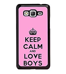 Fuson Designer Back Case Cover for Samsung Galaxy Core Prime :: Samsung Galaxy Core Prime G360 :: Samsung Galaxy Core Prime Value Edition G361 :: Samsung Galaxy Win 2 Duos Tv G360Bt :: Samsung Galaxy Core Prime Duos (Pink Lovely Pink Keep CAlm Be Quiet Be Cool)