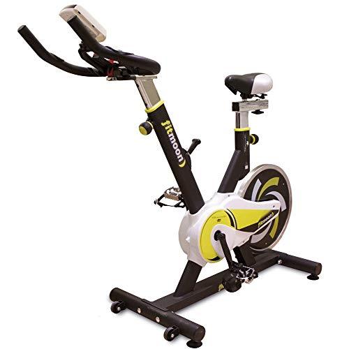 Tecnovita by BH Fitmoon Bicicleta Indoor, Deportes, Negro, Talla Única