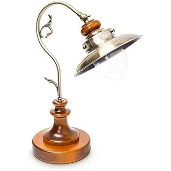 Relaxdays lampe de banquier bureau table abat jour vert en - Lampe de bureau banquier laiton verre vert ...