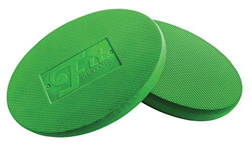 Oval Balance Pads: Ideal für Physiotherapie, Pilates, Yoga, Kampfkunst Balance / Ausdauer / Kernstabilität / Krafttraining, Bewegungsrehabilitation und vieles mehr! (Grün) (Pilates-balance)