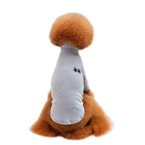 Kostüm Asche - OVCK PET CARE Katzenbekleidung Hundebekleidung Ein Baumwoll-T-Shirt Pullover Pullover Hundebekleidung Mode Süß Haustier Kostüm/Asche/M