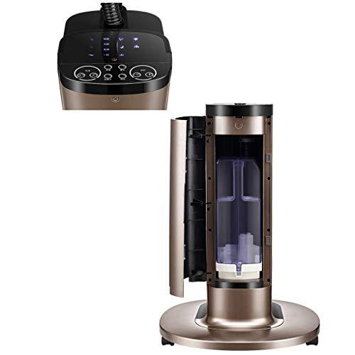 LXD Ventilator Haushaltsspray Kältetechnik Industrie, Outdoor und Restaurant Beweglicher Starkwindboden,Schwarz