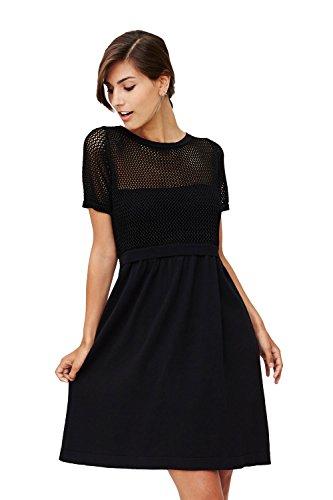 Milker - robe d'allaitement Marta Noir