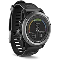 Garmin Fenix 3 GPS Multisport Watch with Outdoor Navigation (Grey)