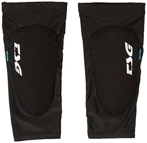 TSG Erwachsene Knee-Sleeve 2nd Skin A 2.0 Knieschoner, Black, L/XL