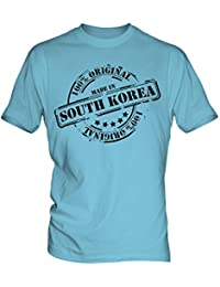 Made In South Korea - Mens T-Shirt T Shirt Tee Top