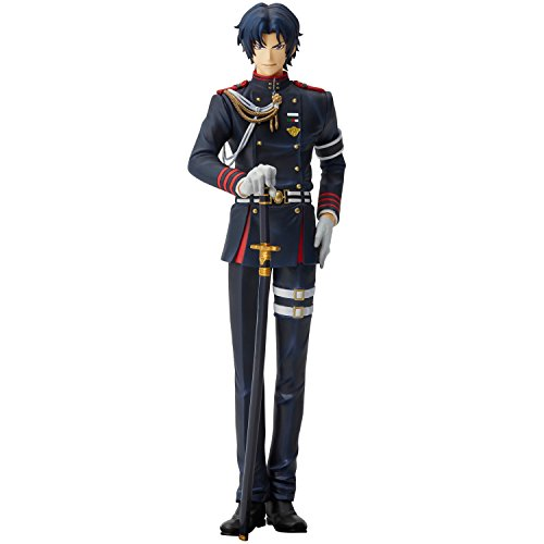 Seraph of the End Menshdge Technical Statue No.23 Guren Ichinose PVC Figur - Kopf-plakette