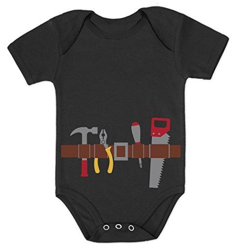 Green Turtle T-Shirts Handwerker Baby Karneval und Halloween Kostüm Baby Body Kurzarm-Body 40/56 (0-3M) ()