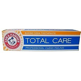 TWELVE PACKS of Arm & Hammer Total Care Baking Soda Toothpaste 125g