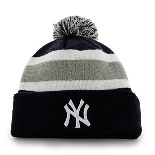 MLB '47abtrünnigen Cuff Knit Hat, Herren, B-BRKAW17ACE-NY, navy, Einheitsgröße
