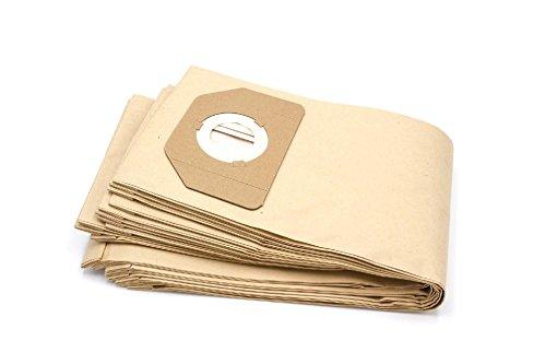 vhbw 10 Beutel Papier für Staubsauger Saugroboter Mehrzwecksauger Bosch Wet & Dry Pas 11-21, Pas...
