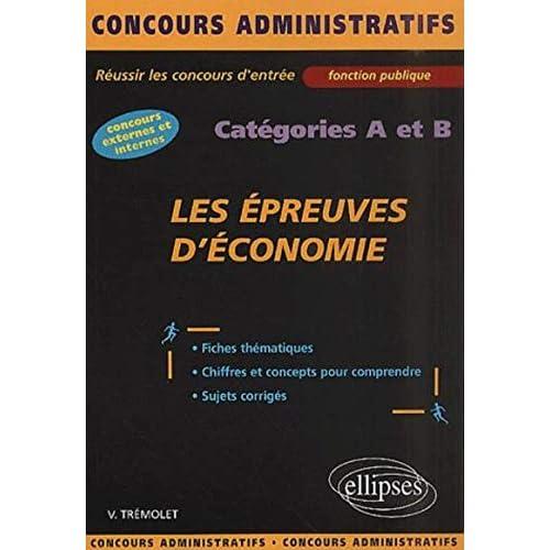 Les épreuves d'économie : Catégories A et B