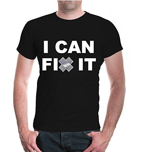 T-Shirt I can fix it Black-z-direct