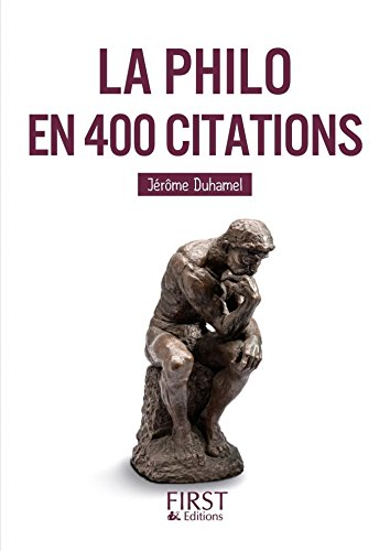 Petit livre de - La Philo en 400 citations