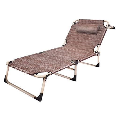 Zero Gravity Lounge Chair Fauteuil inclinable et inclinable réglable Chaise longue Lit bébé Camping Plage de sable Chaise longue (Couleur : B)