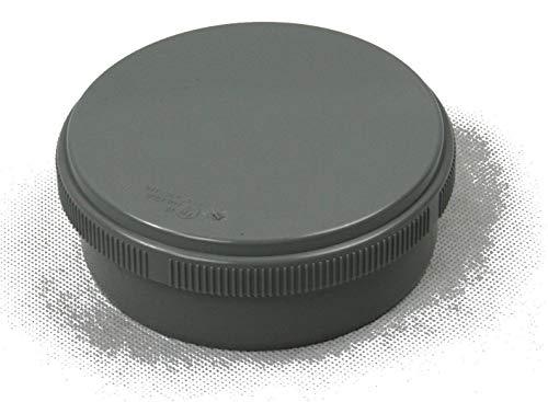 jardiboutique Bouchon - Tampon de Visite PVC Evacuation - Diamètre 100 mm (Lot de 2 Pieces)
