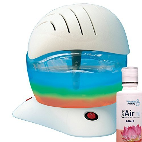 412sHp02mpL. SS500  - Air Purifier Rainbow Breezer by CareforAir Water Electric Freshener