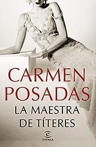 La maestra de títeres par Carmen Posadas