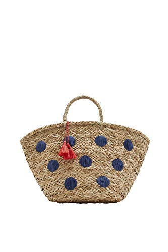 Joules Womens Amalfi Shoulder Strap Summer Beach Tote Bag - Buxton Tote