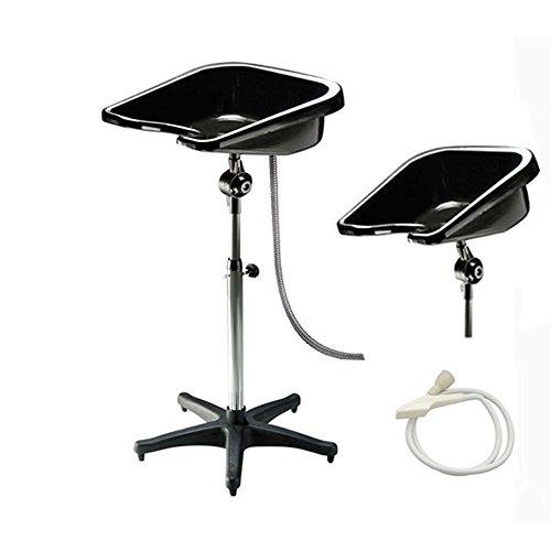 Crisnails® Lavage de cheveux Shampooing Lavabo Portable réglable Barbier meubles